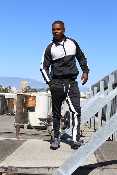 THE CARTER MEN SWEATSUIT - BLACK