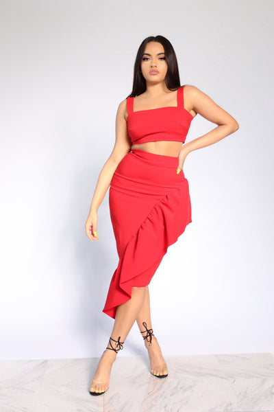 MAJOR ENVY TWO PIECE SET - RED (CUSTOM)
