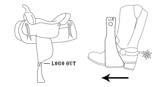 how to use offset stirrups