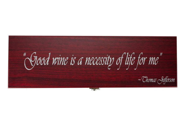 Don Orrell Stirrups Engraved Wine Box