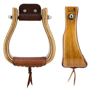 Don Orrell Stirrups Offset Stirrup Standard - Red Elm / 3 inch