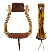 Don Orrell Stirrups Tapered Stirrup Premier - Bocote / 2 inch