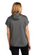 Adult - Ladies Performance Terry Short Sleeve Hoodie