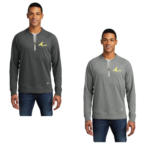 Adult - Sueded Cotton Blend 1/4-Zip Pullover - Ankeny Ambush