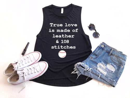 True Love - Ladies Flowy Muscle Tank
