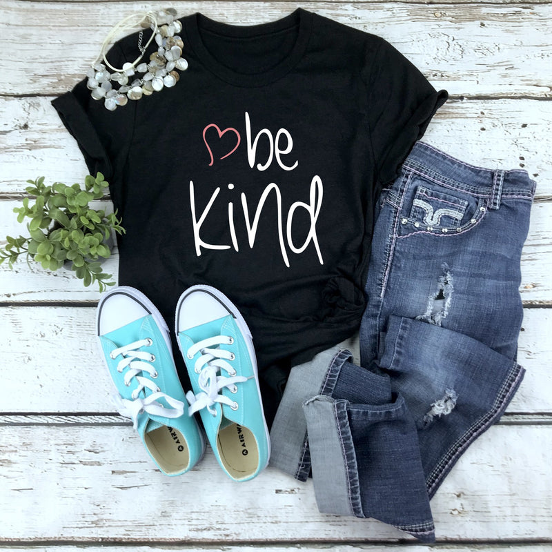 Be Kind -  Unisex  Tee (5 T-Shirt Color Options)