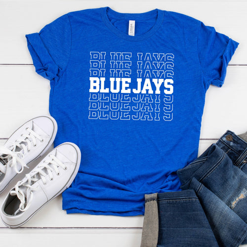 Blue Jays - Unisex Triblend Tee (Size XSmall Available)