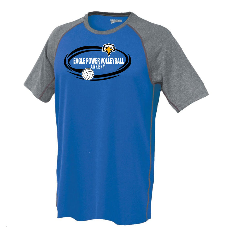 Unisex Clubsport Performance Tee - Eagle Power Volleyball