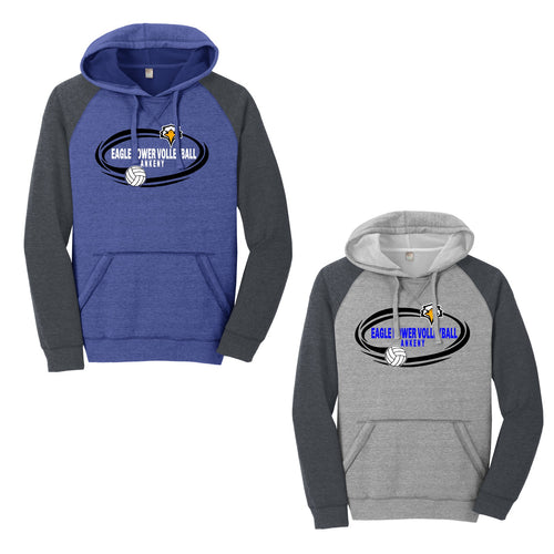 Unisex Hooded Sweatshirt - Eagle Power Volleyball