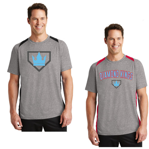 Adult - Unisex Colorblock Contender Perforamnce Tee - Diamond Kings Baseball