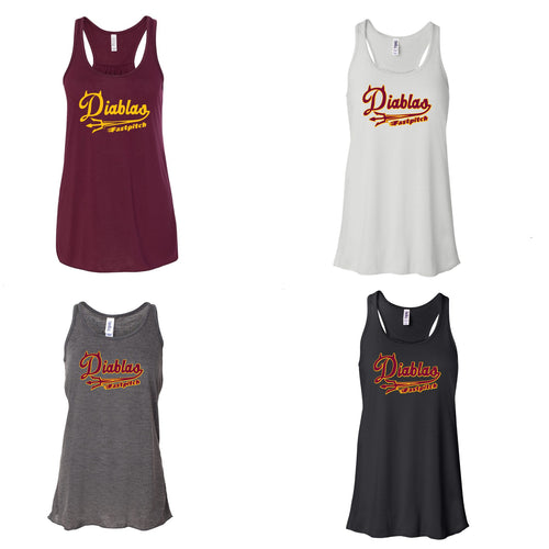 Adult - Ladies Flowy Racerback Tank