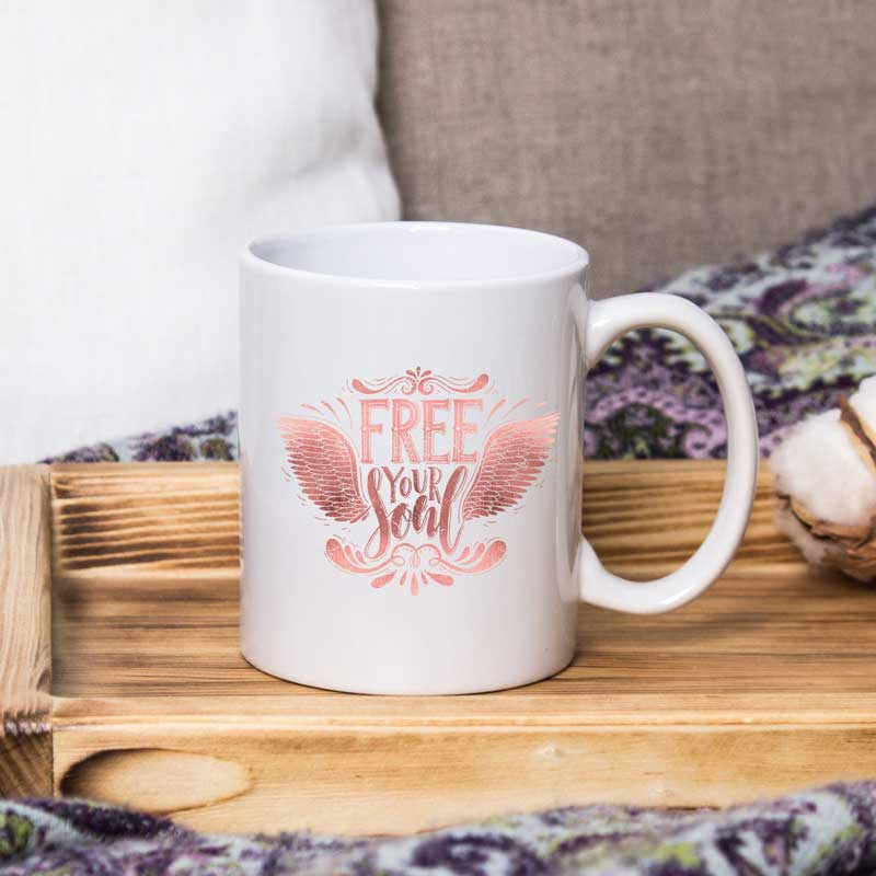Free your Soul - 15 oz coffee mug