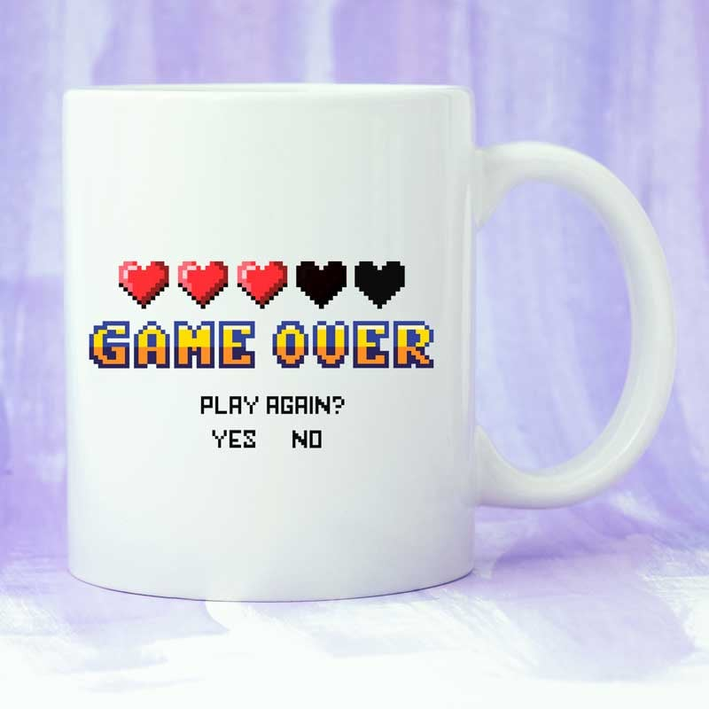 Game Over- 15 oz coffee mug