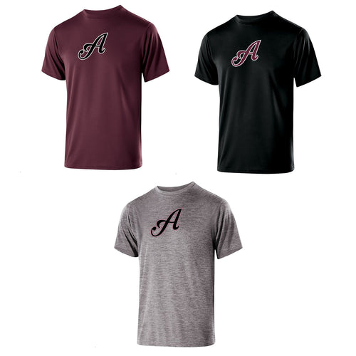 Adult - Unisex Gauge Short Sleeve Performance Tee - Tomahawks