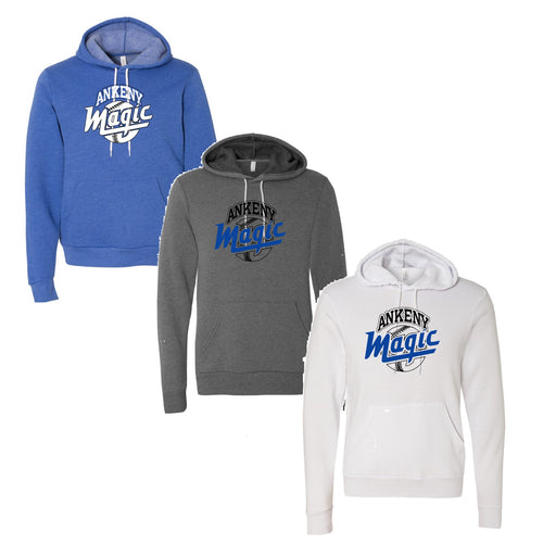 Adult - Unisex Sponge Fleece Pullover Hoodie - Ankeny Magic
