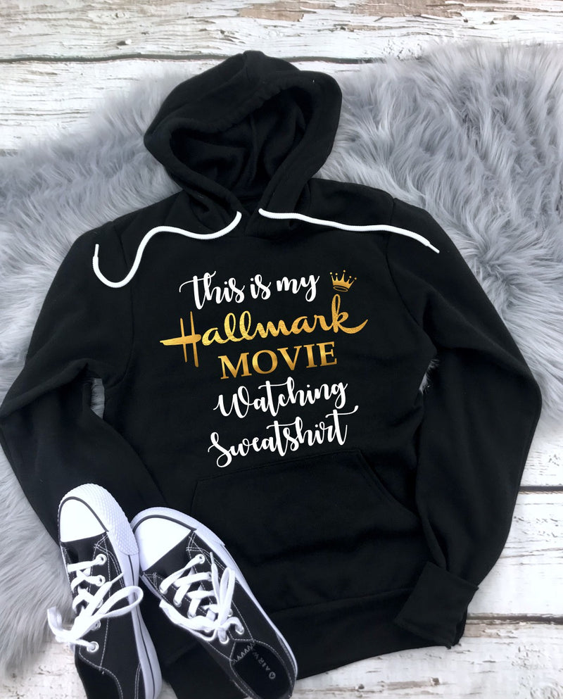 Hallmark Movie Sweatshirt - Unisex Hooded Pullover Sweatshirt
