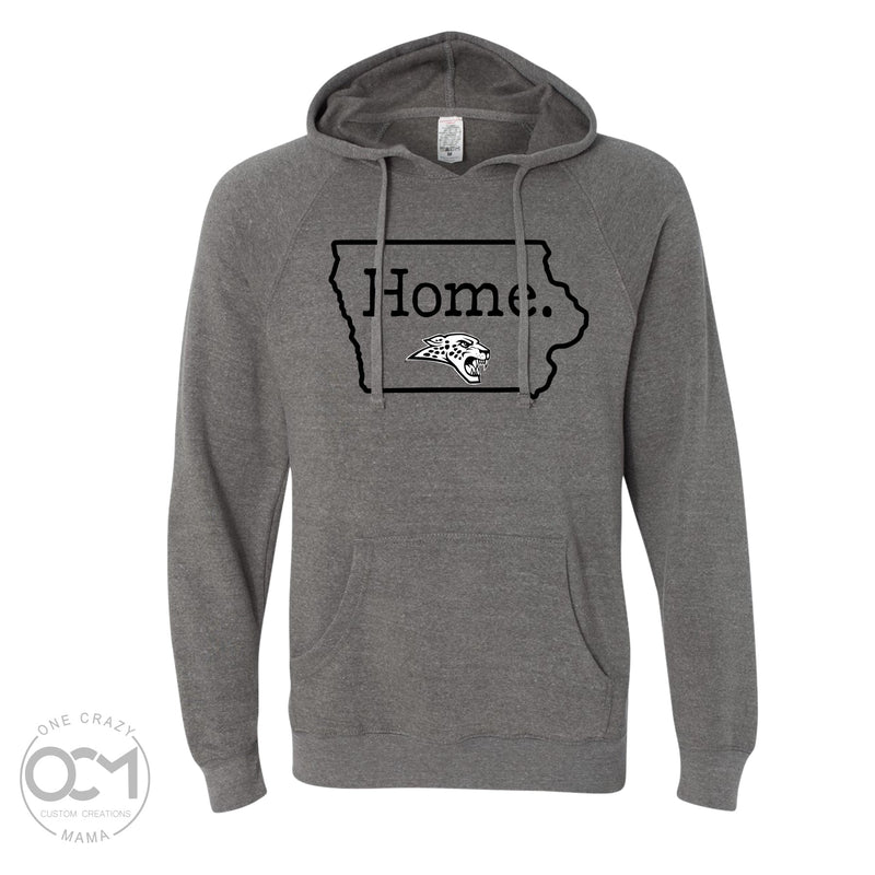 Home (Jaguars) -  Unisex Special Blend Raglan Hooded Sweatshirt