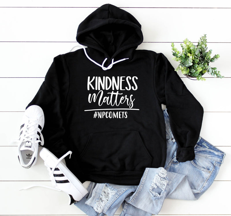Unisex Hooded Pullover Sweatshirt - Kindness Matters