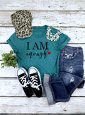 I am Enough -  Unisex Triblend Tee