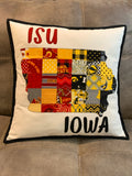 Pillows - Iowa, Iowa State & House Divided