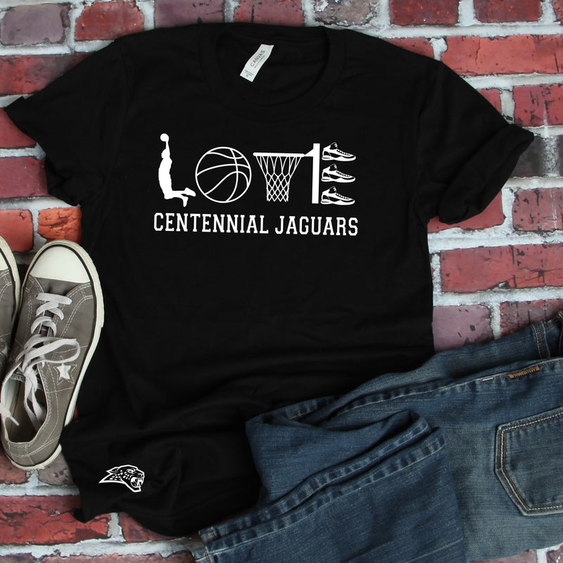 Love Jag Basketball -  Unisex Triblend Tee