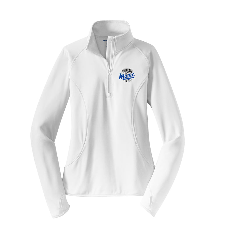Adult - Ladies Sport-Wick® Stretch 1/2-Zip Pullover - Ankeny Magic