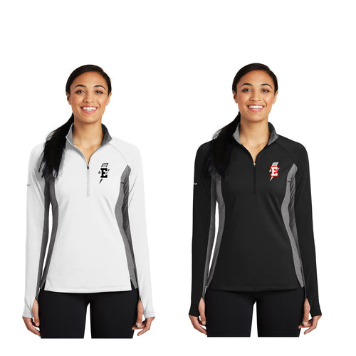 Adult - Ladies Sport-Wick® Stretch Contrast 1/2-Zip Pullover - Ankeny Energy