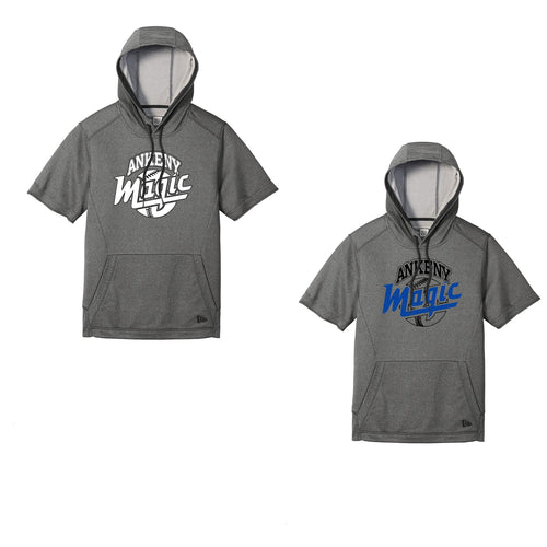 Adult -  Performance Terry Short Sleeve Hoodie - Ankeny Magic