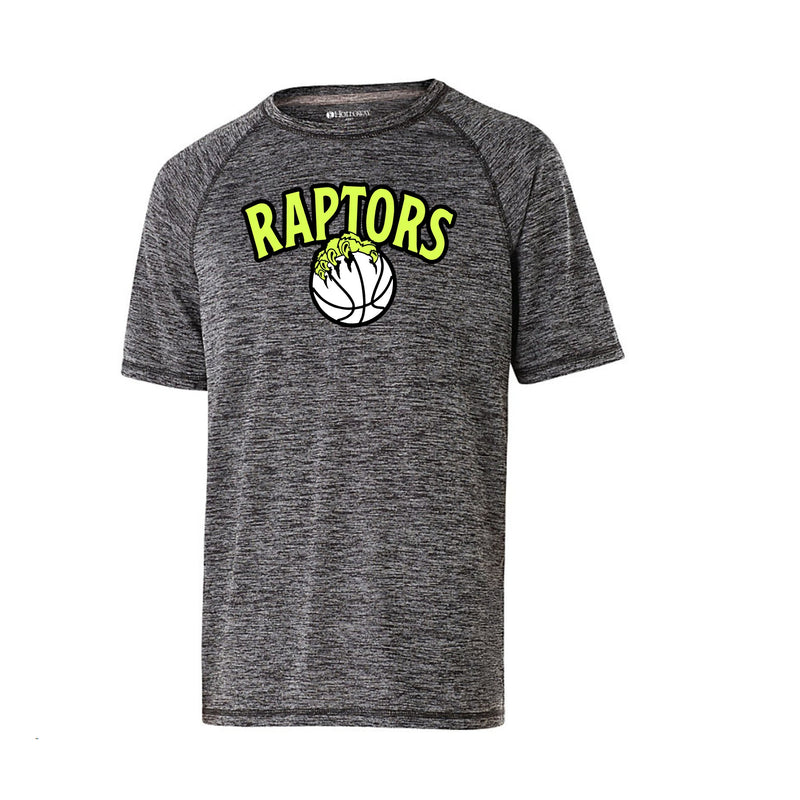 Youth Electrify Short Sleeve Performance Shirt - Raptors