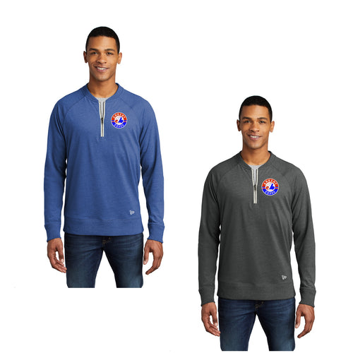 Adult - Sueded Cotton Blend 1/4-Zip Pullover - Expos