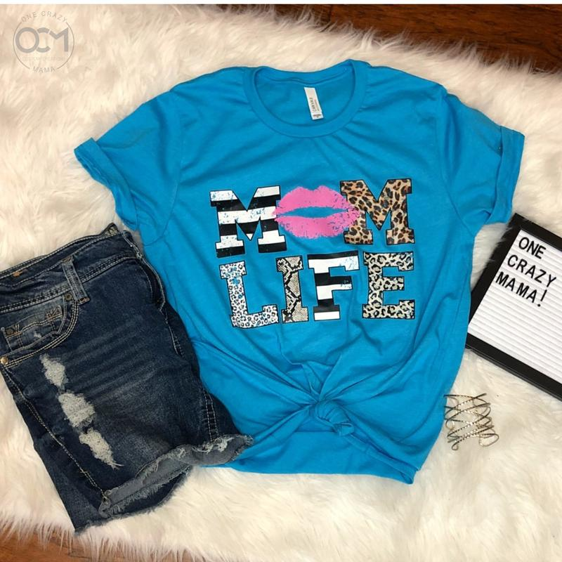 Mom Life - Unisex Triblend Tee (Size M Available)