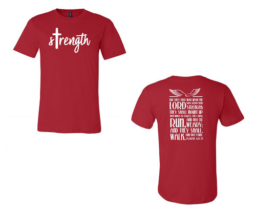 Youth Triblend Tee - Strength