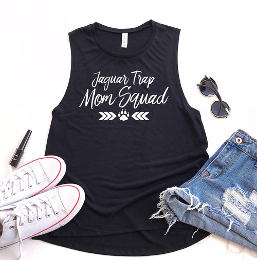 Ladies Flowy Muscle Tank - Squad