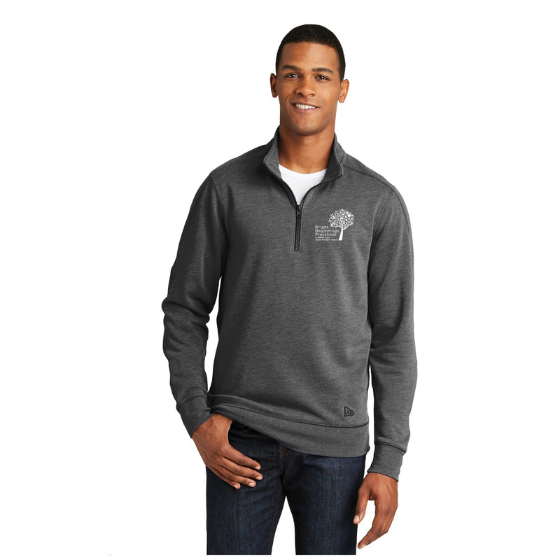 Sueded Cotton Blend 1/4-Zip Pullover - Bright Beginnings