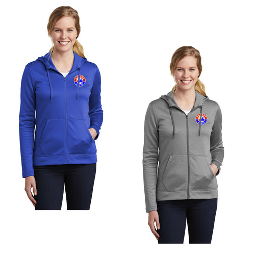 Adult - Nike Ladies Therma-FIT Full-Zip Fleece Hoodie - Ankeny Expos