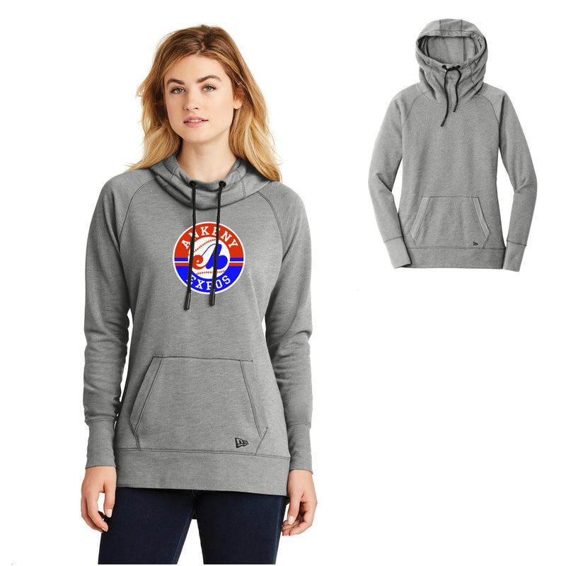Adult - Ladies Tri-Blend Fleece Pullover Hoodie - Expos