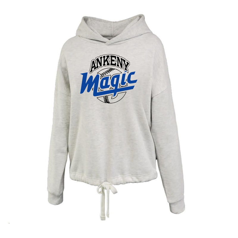 Adult - Ladies Varsity Relaxed Hoodie - Ankeny Magic