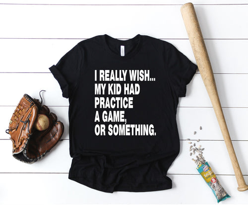 I really wish.... - Unisex Triblend Tee (You pick the color of tee)