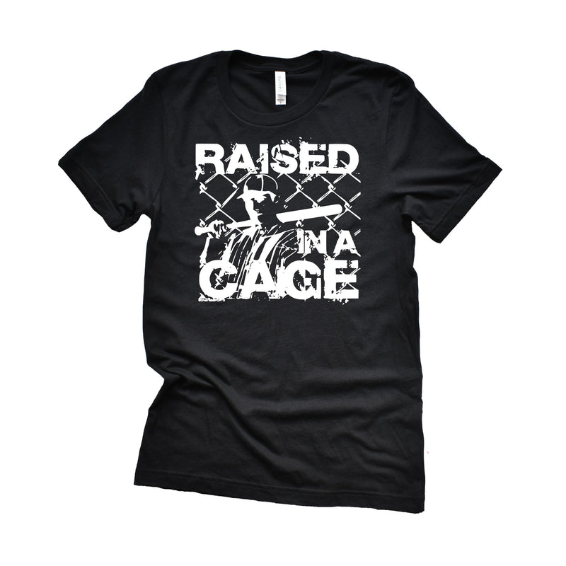 Raised in a Cage - Unisex Triblednd Tee (Size 2XL Available)