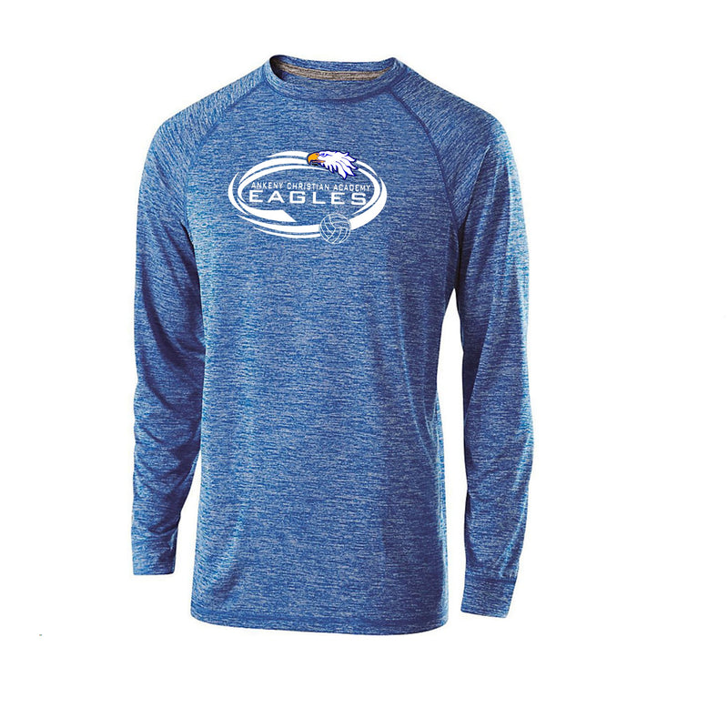 Youth Electrify Long Sleeve Performance Shirt - Ankeny Christian Academy