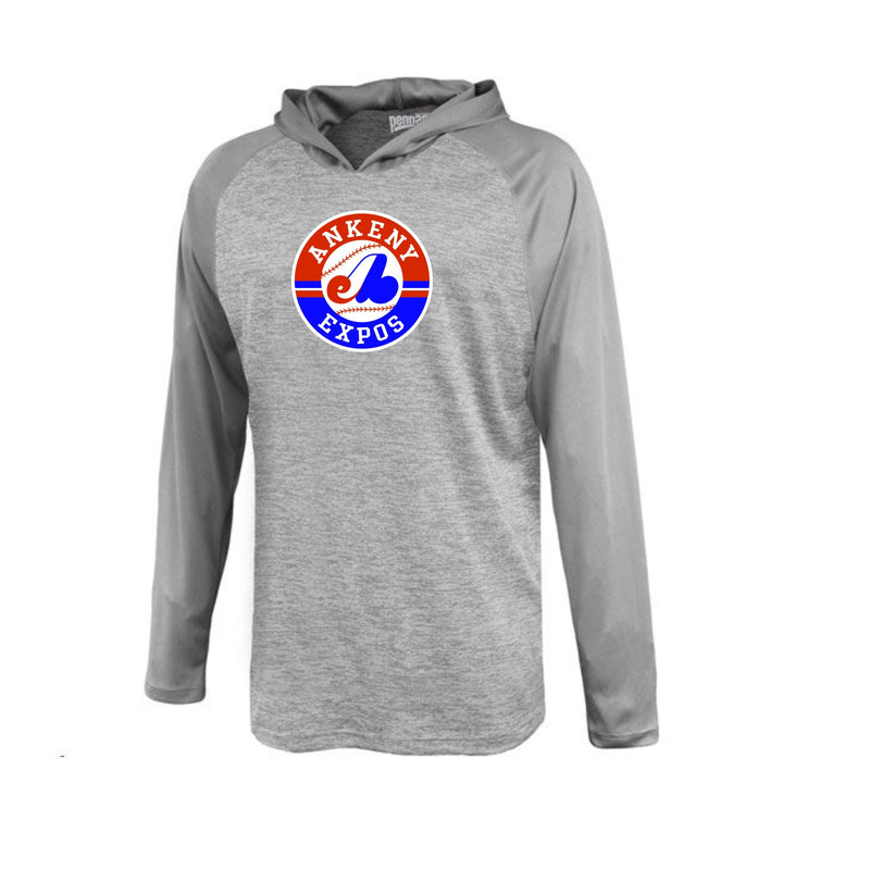 Adult - Stratos Hooded Performance Tee - Ankeny Expos