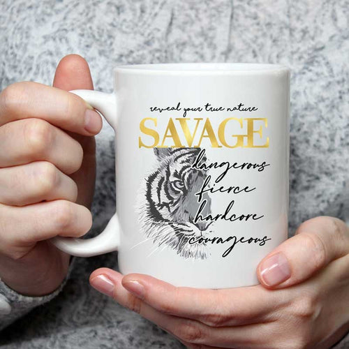 Savage - 15 oz coffee mug
