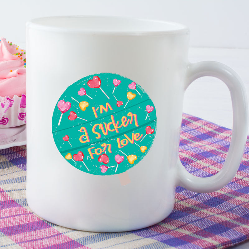 I am a sucker for Love - 15 oz coffee mug