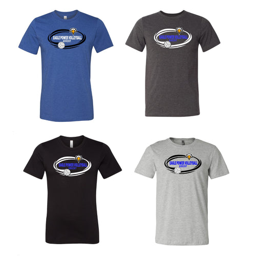 Unisex Triblend Tee - Eagle Power Volleyball