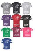 Adult -Unisex Football Fine Jersey Tee (You pick the color tee) - Bright Beginnings