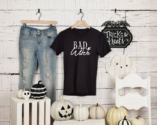 Bad Witch - Unisex Triblend Tee