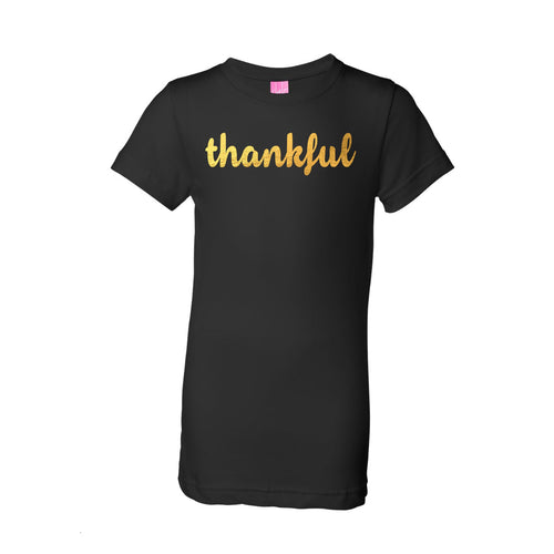 Girls (Youth) - Thankful Tee (Size Girls Med Available)