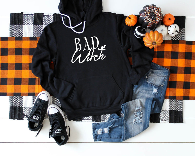 Bad Witch - Unisex Hooded Pullover Sweatshirt