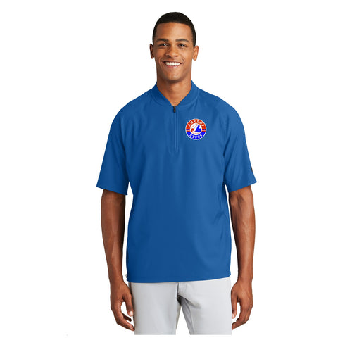 Adult - Cage Short Sleeve 1/4-Zip Jacket - Ankeny Expos