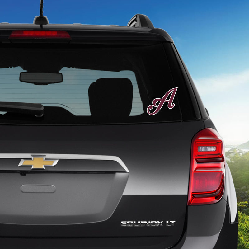 Car Decal (Maroon/White)- Tomahawks